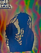 Rasta Love Print by Tony B Conscious