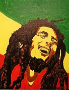 Heroes Paintings - Rasta Mon by Michael Terracina