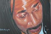 Raw Sienna Art - Rastaman by Belle Massey