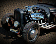 Paint Photograph Prints - Rat Rod Metal Print by Perry Webster