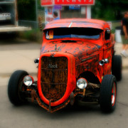 Paint Photograph Prints - Rat Rod Print by Perry Webster