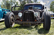 Lowered Posters - Rat Rod Poster by Peter Chilelli