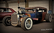 Paint Photograph Prints - Rat Rod Scene Print by Perry Webster