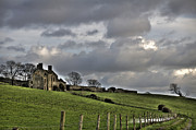 Ireland Prints - Rathfran House Print by Marion Galt