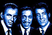Hollywood Digital Art Metal Prints - Ratpack Metal Print by Dean Caminiti