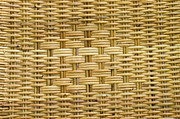 Macro Tapestries - Textiles Metal Prints - Rattan  Metal Print by Thakoengphon  Sakkakit