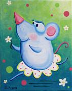 Ratterina Print by Jennifer Alvarez