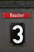 Bahn Prints - Raucher Print by Falko Follert