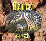 Belt Buckle Jewelry - Raven by Dire Needz