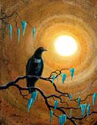 Laura Iverson - Raven in Dark Autumn