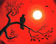 Laura Iverson - Raven in Red