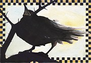 A Leon Miler - Raven in the Thornbush