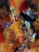 Corporate Painting Prints - Raven Morgan 002 Print by Donna Frost