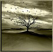 Landscape Digital Art - Raven Valley by Photodream Art