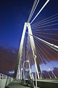 Donny Metal Prints - Ravenel Tower Metal Print by Donni Mac