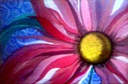 Gladiola Paintings - Ravers Daisy by Crystal Dearth-Lorton