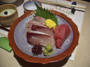 Kansai Photos - Raw Fish Sashimi Plate - Kyoto Japan by Daniel Hagerman