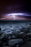 Thunderstorm Prints - Raw power Print by Jorge Maia
