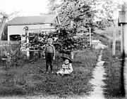 Shed Photo Originals - Ray and Anna 1887 by Jan Faul