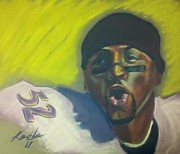 Figures Pastels - Ray by Kevin Harris