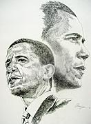 President Obama Prints - Ray Of Hope Print by Otis  Cobb