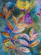 Uplifting Mixed Media Prints - Rays of Hope Print by Vijay Sharon Govender
