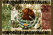 Roberto Digital Art Metal Prints - Raza Metal Print by Roberto Valdes Sanchez