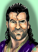 Wwf Framed Prints - Razor Ramon Framed Print by Vinny John