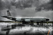 Jet Photo Framed Prints - Rc-135vw Framed Print by Ryan Wyckoff