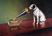 Pet Poster Prints - Rca Victor Trademark Print by Granger