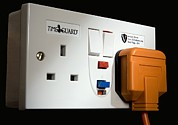 Electric Current Posters - Rcd Protected Switched Sockets Poster by Sheila Terry