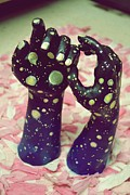 Portraits Ceramics Originals - Reach for the Stars by Samantha Woods
