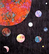Science Fiction Tapestries - Textiles - Reach by Maureen Wartski