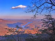 Smokey Mountains Digital Art - Reaching for a cloud by Steve Karol