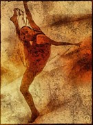 Dancer Digital Art - Reaching for the limit by Gun Legler