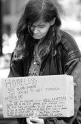 Homeless Photos - Read the message by Chuck Kuhn