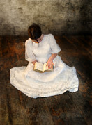 Princess Prints - Reading  Print by Jill Battaglia