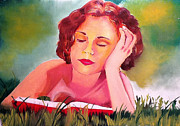 Graciela Scarlatto - Reading Woman I