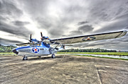 Vintage Aircraft Prints - Ready and Able Print by Rich Franco