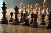 Chess Photos - Ready for Battle by Frank Mari