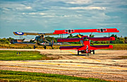 Biplane Photos - Ready for Combat by Steve Harrington