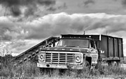 Ready For The Harvest Bw Print by JC Findley