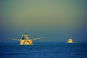 Nautical-boats-ships-waves - Ready for the Night Catch by Susanne Van Hulst