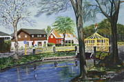 Netherlands Paintings - Ready for the Spring by Alan Mager