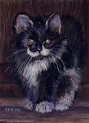 Kitten Pastels - Ready for Trouble by Sharon E Allen