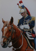 Police Paintings - Ready to march by David McEwen