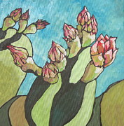 Prickly Prints - Ready to Open Print by Sandy Tracey