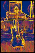 Jet Star Digital Art Metal Prints - Ready To Rock Metal Print by Bill Cannon