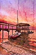 Ready To Sail Print by Debra and Dave Vanderlaan