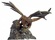 Fantasy Sculptures - Ready To Take Flight - Bronze Dragon by Deborah  DeAmroim